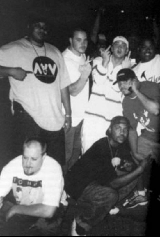 Vintage D12 in 99 with Em, Mr. Porter,Bizarre, and Kuniva