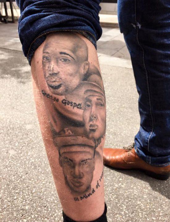Hopsin Tatoo Eminem