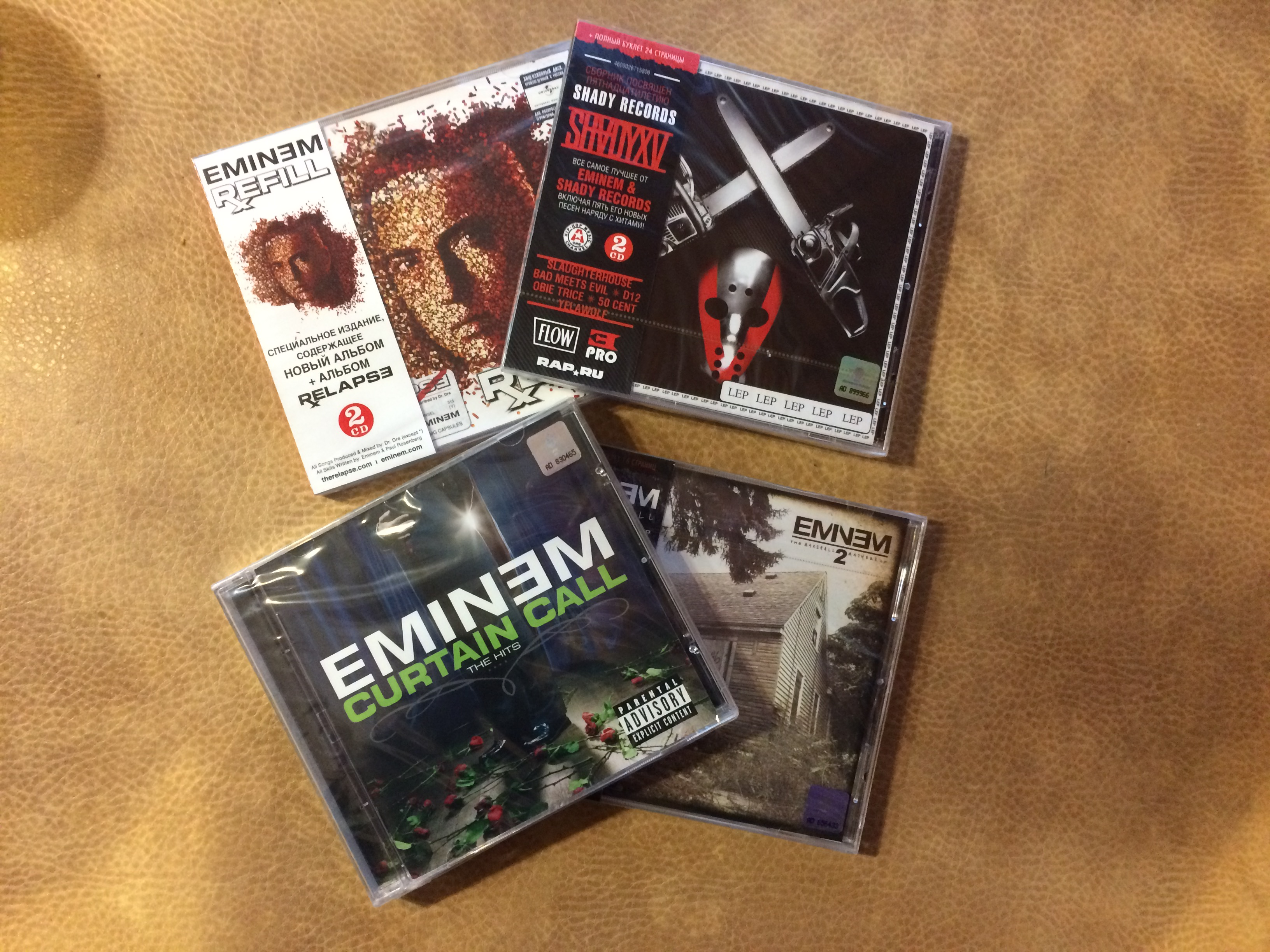 The Marshall Mathers LP 2, Relapse: Refill, Curtain Call, SHADYXV