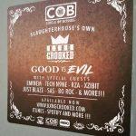 KXNG Crooked Good vs Evil COB Sticker