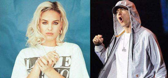 MTV EMA 2016: Анна-Мари безумно хочет поработать с Эминемом
