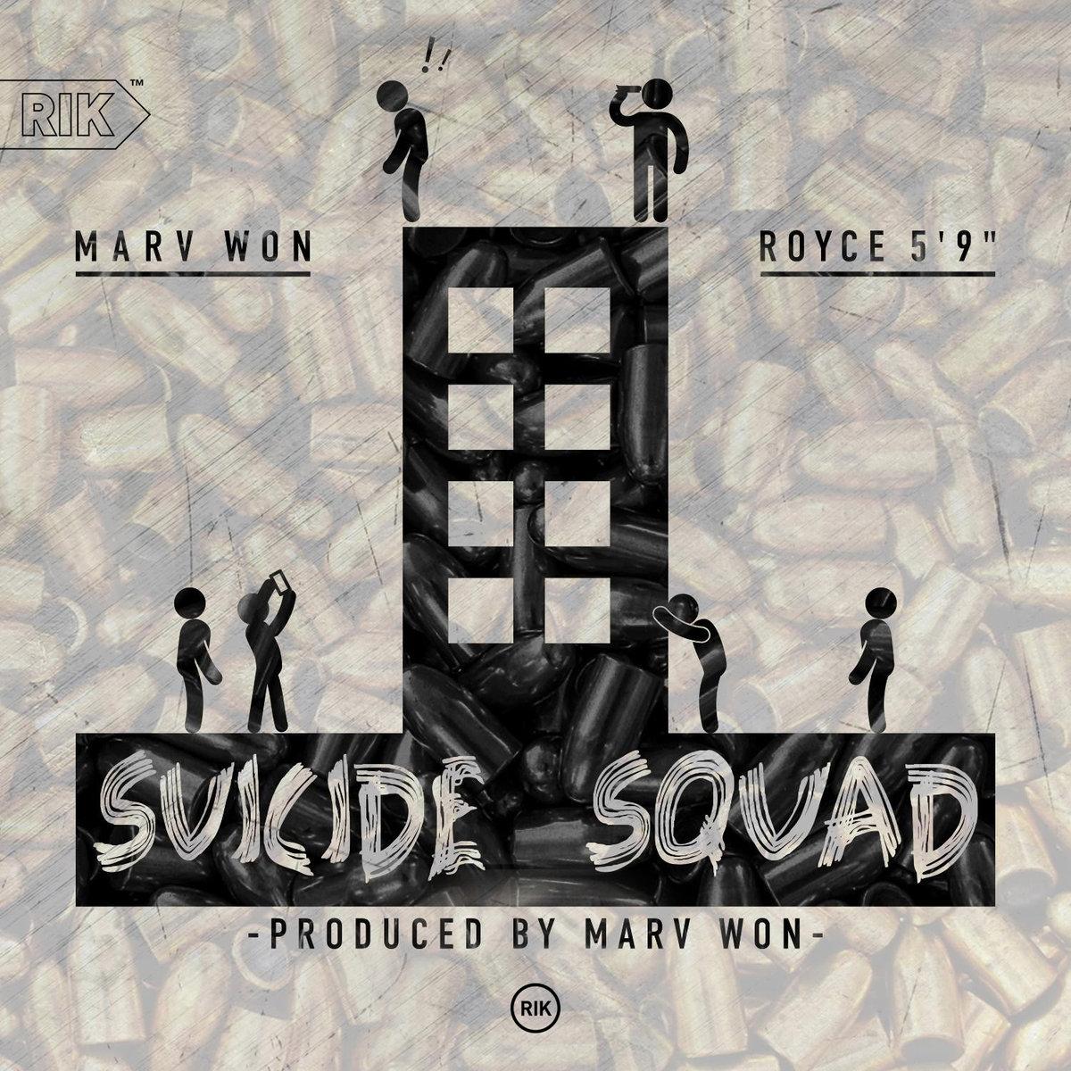 Royce 5'9 принял участие в записи совместного с Marv Won трека «Suicide Squad»