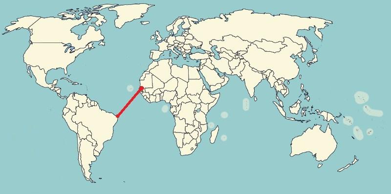 Из Сенегала в Бразилию с Eminem'ом в наушниках: Бен Хупер намеревается переплыть Атлантический океан
