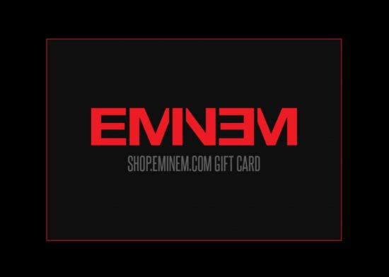 Eminem выпустил подарочные карты для своего магазина
