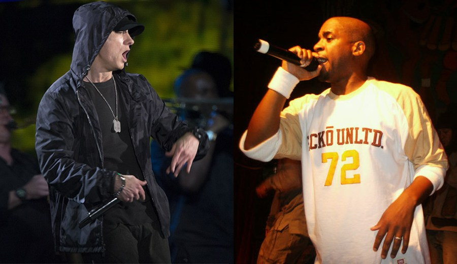Новое видео: Eminem поздравил Masta Ace с юбилеем, зачитав куплет из терка «Symphony»