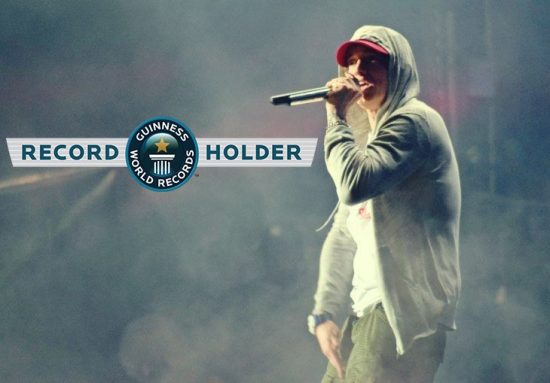 Eminem Rap God World Record