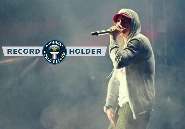Eminem Rap God World Record