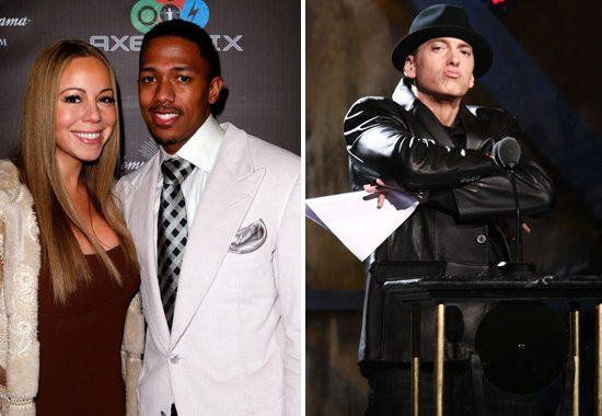 nick cannon eminem mariah carey