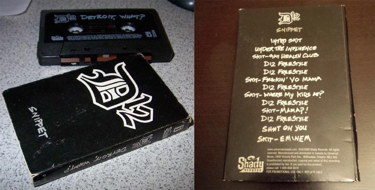 D12 — «Detroit, What?». Редкая промо-кассета 2000 года