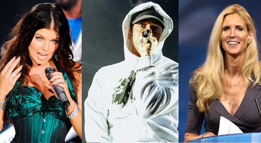 Ферги и Энн Коултер отреагировали на дисс Eminem в его куплете на треке «No Favors»
