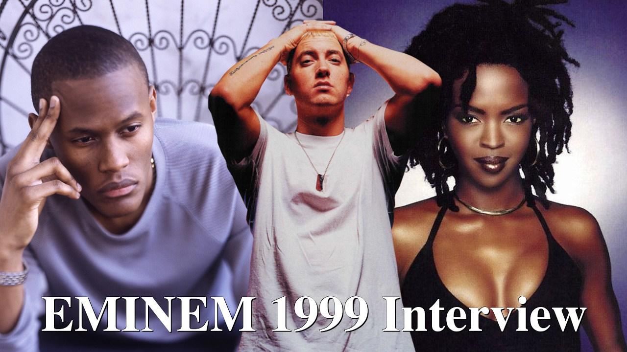 Eminem назвал Lauryn Hill расисткой и заявил, что готов к баттлу с кем угодно, даже с KRS-1