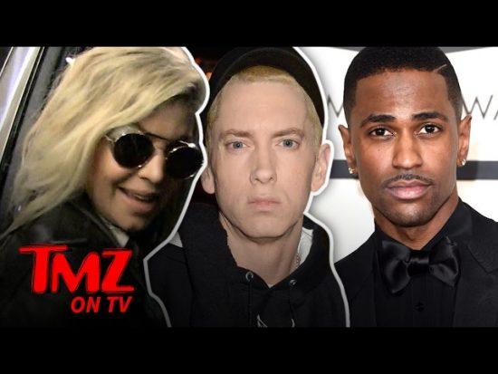 TMZ Спросили Fergie как она на самом деле относится к диссу Eminem'а на «No Favors»