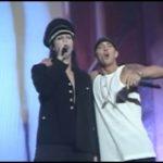 Eminem и Мэрилин Мэнсон Reading Festivals 2001 Carling Weekend