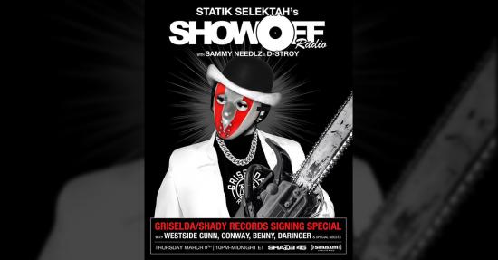 Shady Records и Griselda объявили об участи на специальном выпуске на SHOWOFF radio!