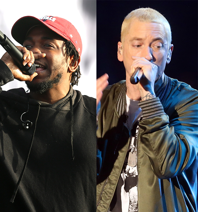 Лагеря разделились: продолжение животрепещущей темы о первосходстве Kendrick Lamar'a над Emiem'om