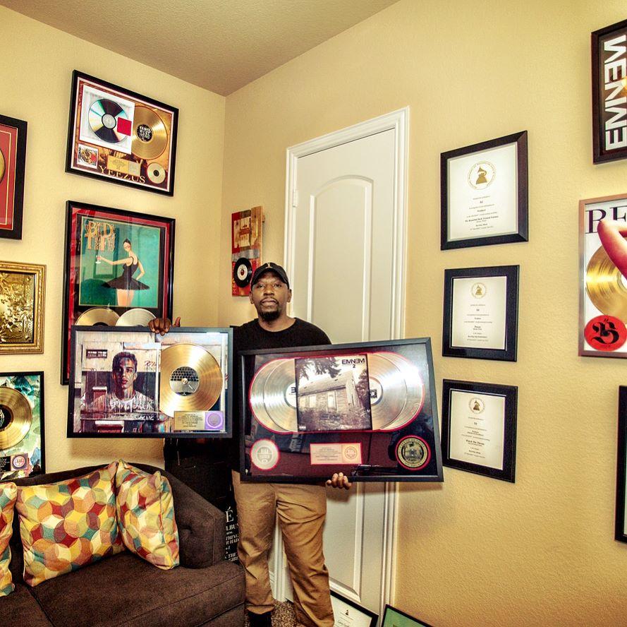 Продюсер S1 получил сертификат от RIAA за 4х-платиновый альбом «The Marshall Mathers LP 2»