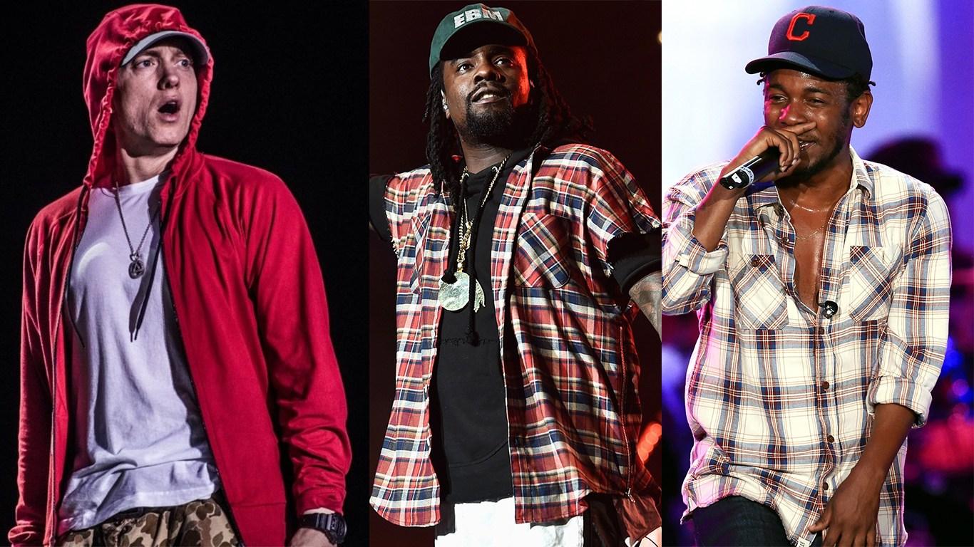 Whale делится своими мыслями по поводу дебатов на тему «Kendrick Lamar vs. Eminem»
