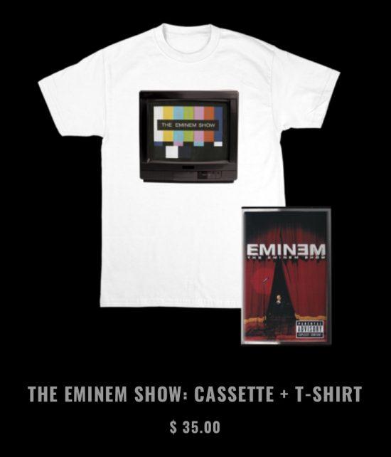Eminem выпустил коллекцию мерчендайза к юбилею «The Eminem Show»