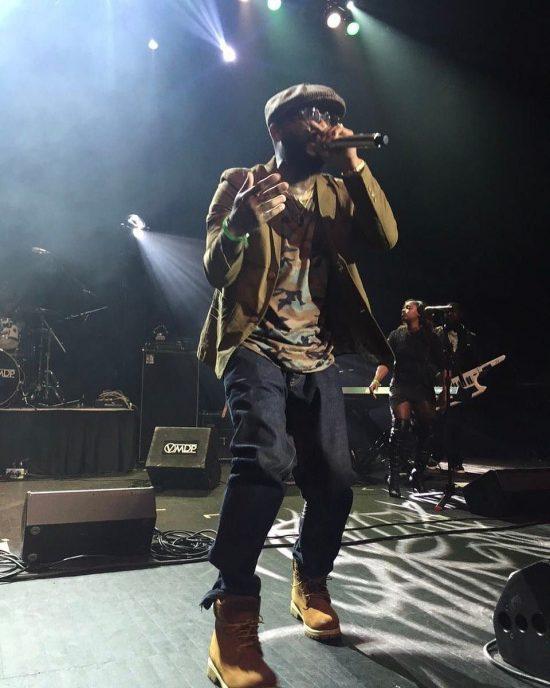 Royce 5'9 выступает на Detroit Music Awards 2017 в Детройте 5 мая