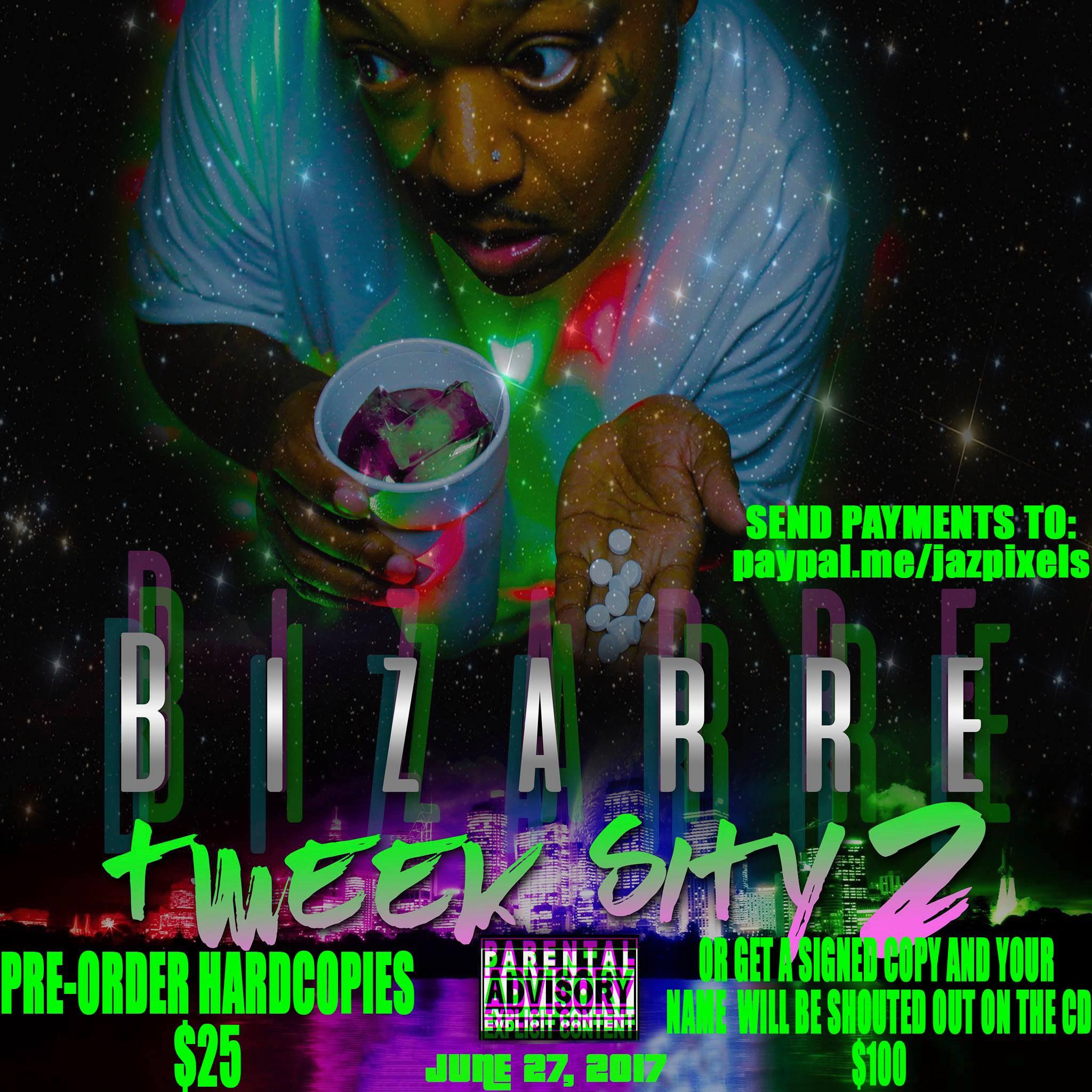 Хочешь услышать своё имя на новом альбоме Bizarre «Tweek Sity 2»?