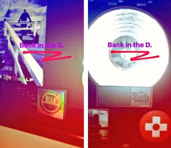 Продюсер S1 (Symbolyc One) также приехал на этой неделе в Детройт, о чём сообщил у себя в инстаграме и записал видео для Instagram Stories.