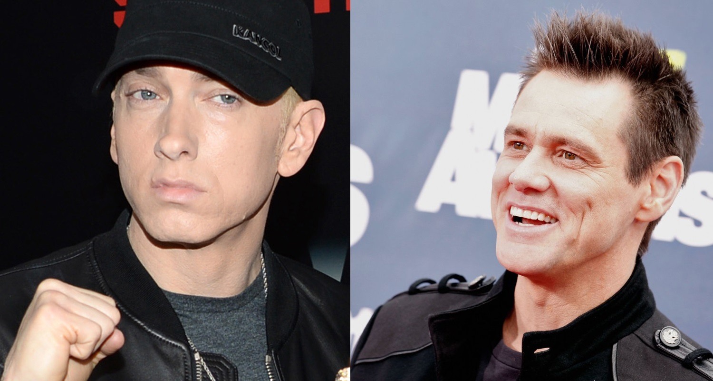 Джим Керри ответил Эминема на аннотацию к юбилею альбома «The Eminem Show»