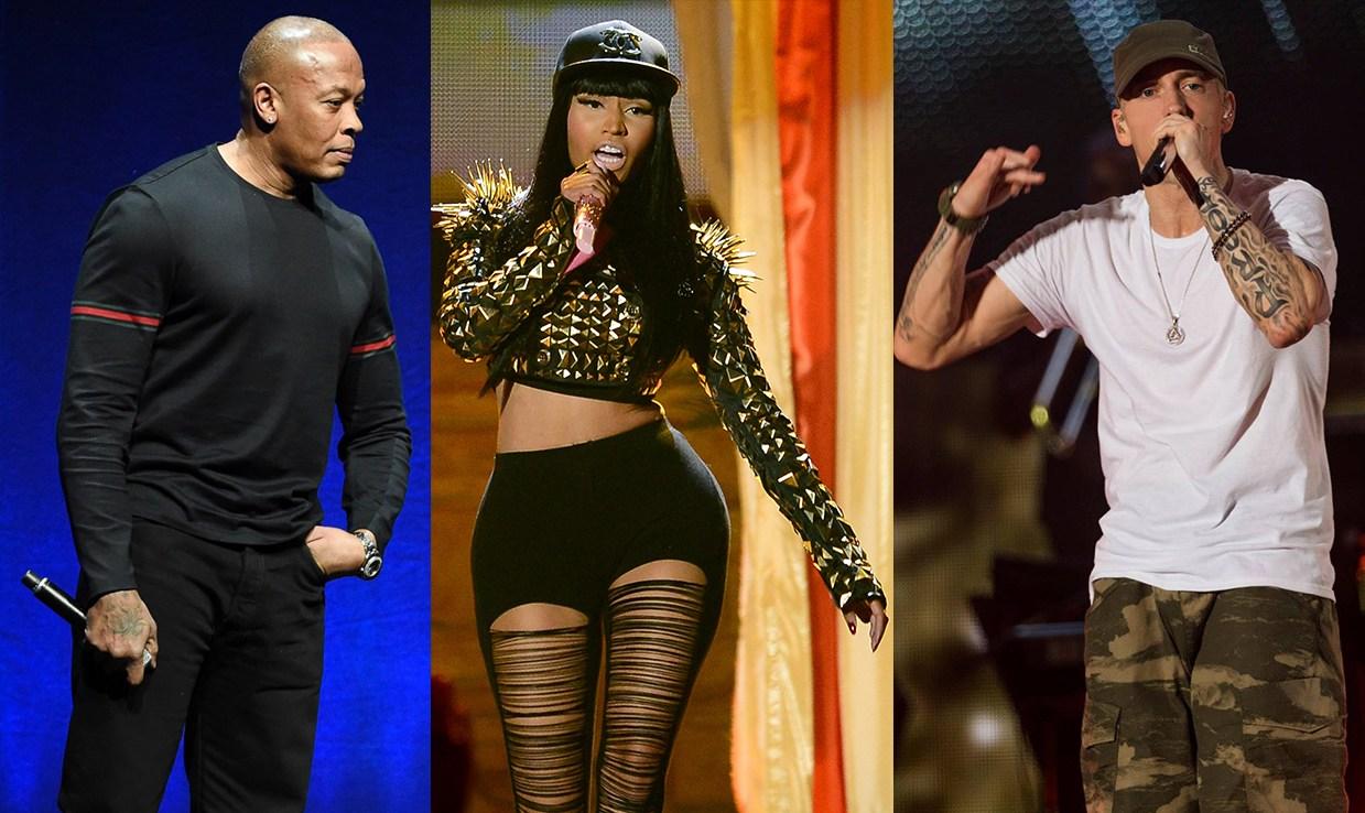 Ники Минаж хочет коллаборацию с Эминемом и Dr. Dre