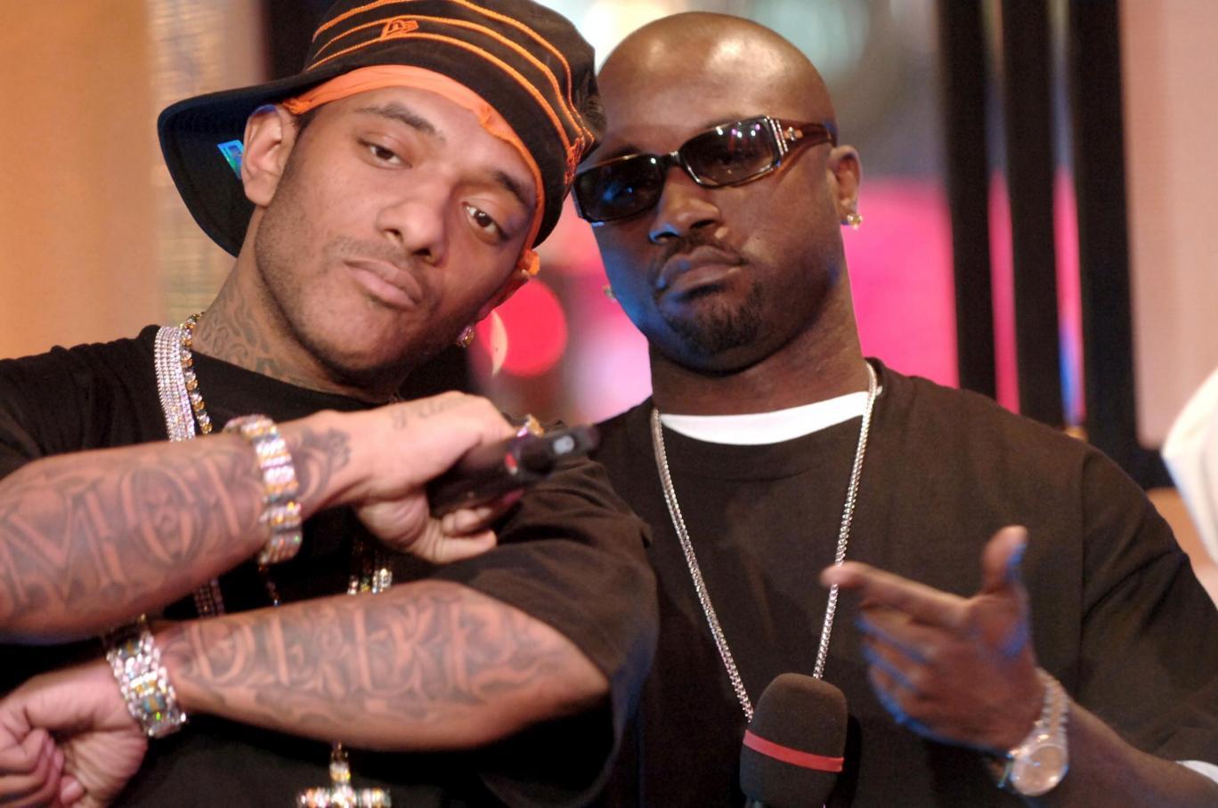 Kejuan Muchita (Havoc) and Albert Johnson (Prodigy)