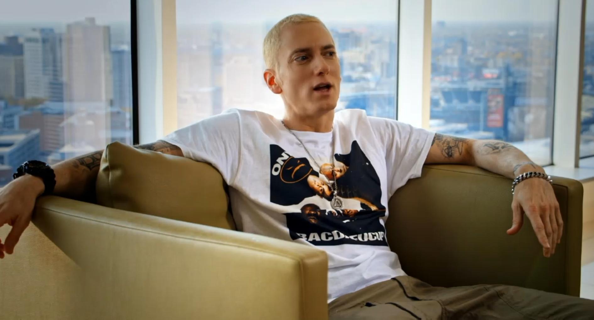 Dr. Dre в «The Defiant Ones»: Eminem мне просто сносит крышу... ты знаешь: происходит что-то особенное... что-то волшебное