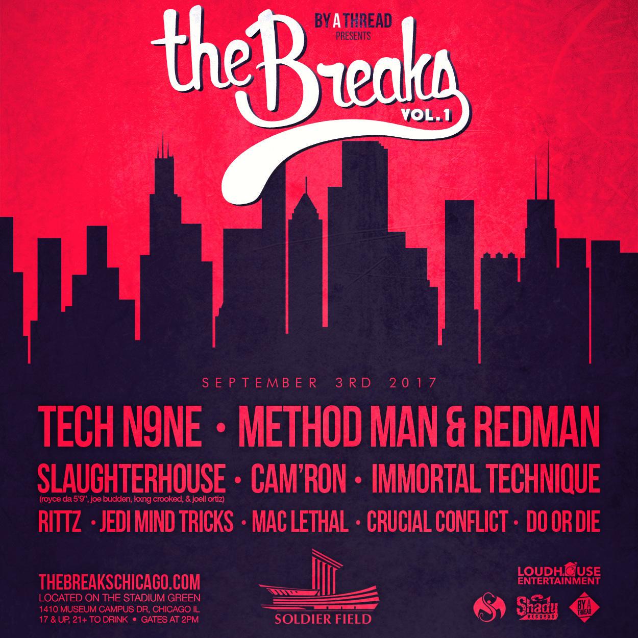 Группа Slaughterhouse выступит на хип-хоп фестивале в Чикаго