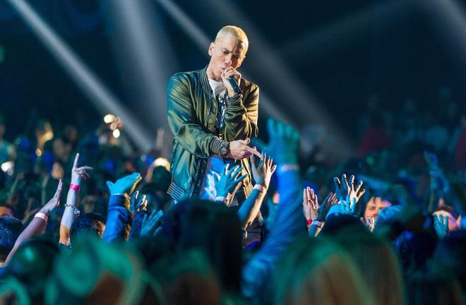 Eminem and Paul Rosenberg