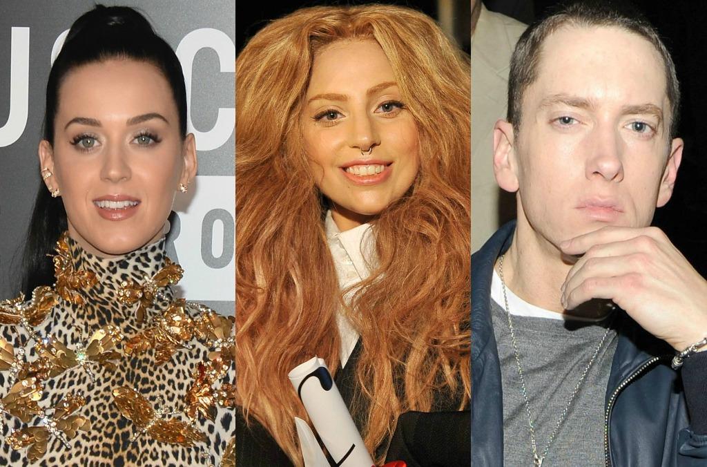 Katy Perry обошла Эминема и Леди Гагу по количеству «бриллиантовых» синглов