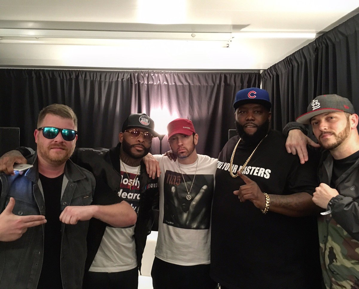 Eminem amd Run the Jewels