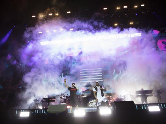 Reading festival 2017, Eminem и Mr. Porter, фото Jeremy Deputat