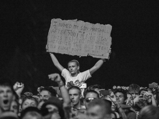 Reading festival 2017, Eminem, фото Jeremy Deputat
