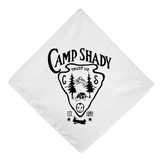 Бандана «Camp Shady Bandana in White»