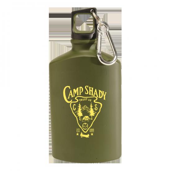 Походная фляжка для воды «Camp Shady Canteen in Green»