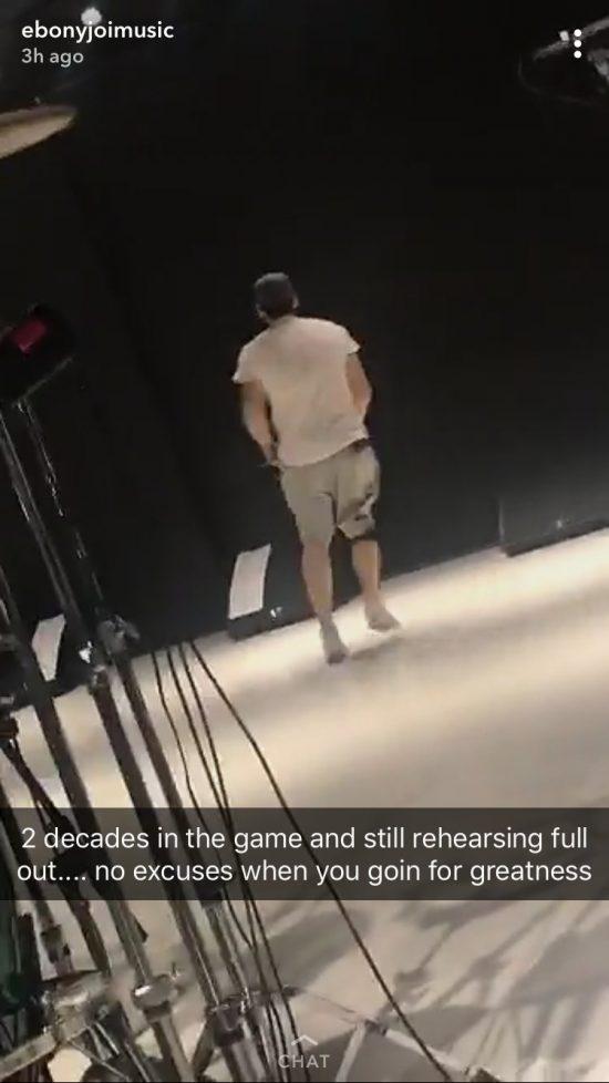 Видео с репетиции Эминема перед концертами в Великобритании