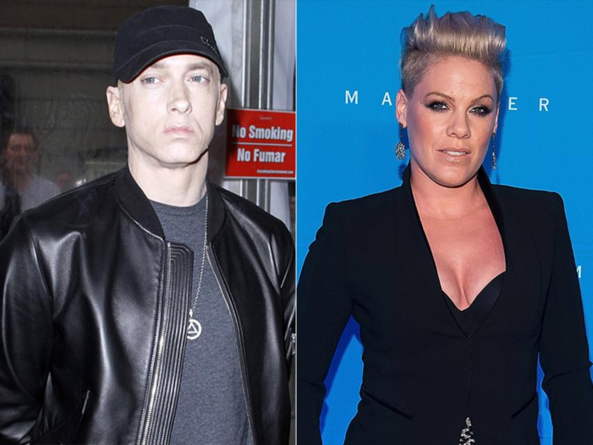 Eminem Pink Эминем и Пинк