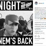 В BET Networks подтвердили возвращение Эминема на Hip Hop Awards!