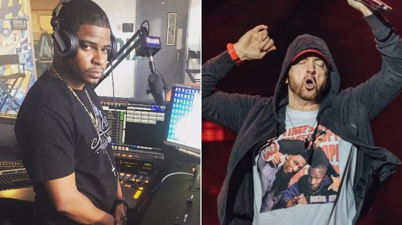 DJ Caesar троллил фанатов, сообщив об «эксклюзивной» премьере трека Эминема на Shade 45
