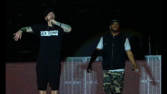 Eminem Glasgow Fuck Trump