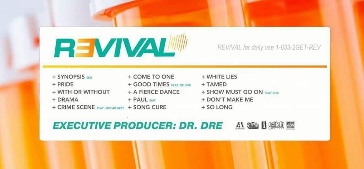 Фанатский трек-лист Revival