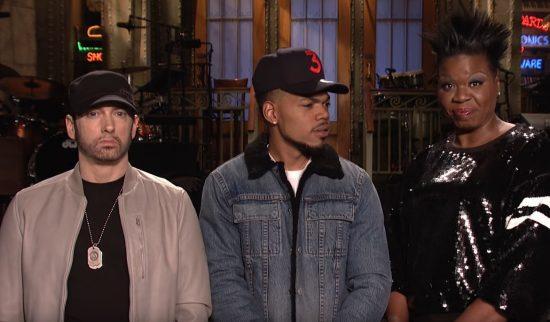 Официальное промо-видео Saturday Night Live с участием Эминема