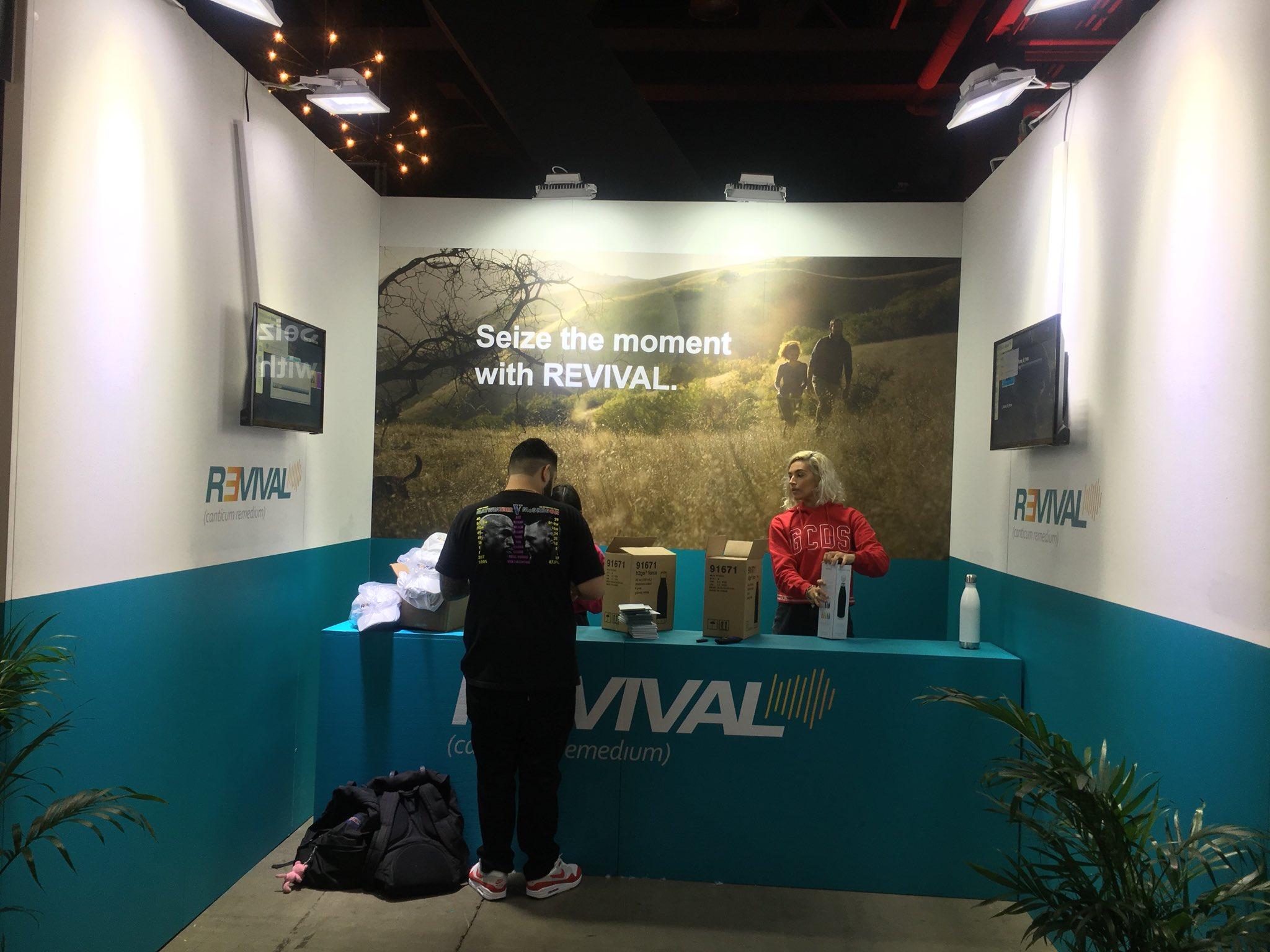 Стенд Revival замечен на ComplexCon 2017