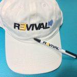 На стенде представлена реклама «препарата» присутствует представитель компании, который рассказывает о Revival, а также раздаёт посетителям сувениры с символикой Revival.