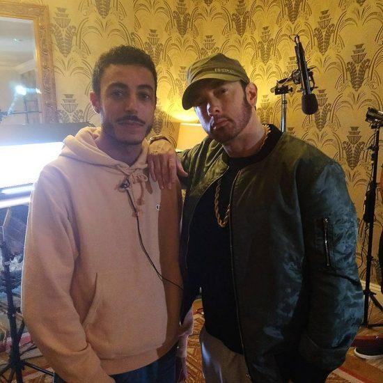 Редактор издания Konbini - Rachid Majdoub сообщил, что взял у Эминема интервью
