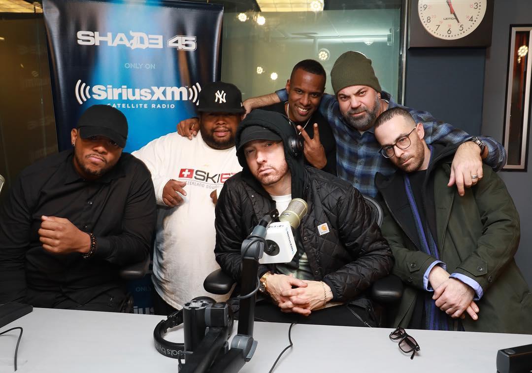 О чём говорил Eminem в большом интервью на радиостанции Shade 45 (17 ноября)