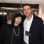 2017.11.18 - Eminem and Justin Verlander @ SNL
