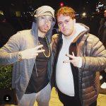 2017.11.18 - Eminem and fan @ SNL 2